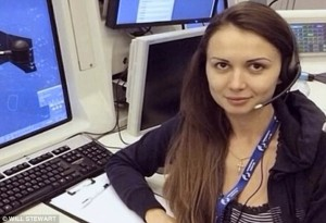 Air traffic controller Anna Petrenko who was guiding Malaysian Airlines MH17 at the time it went down has now also gone missing. Click to enlarge