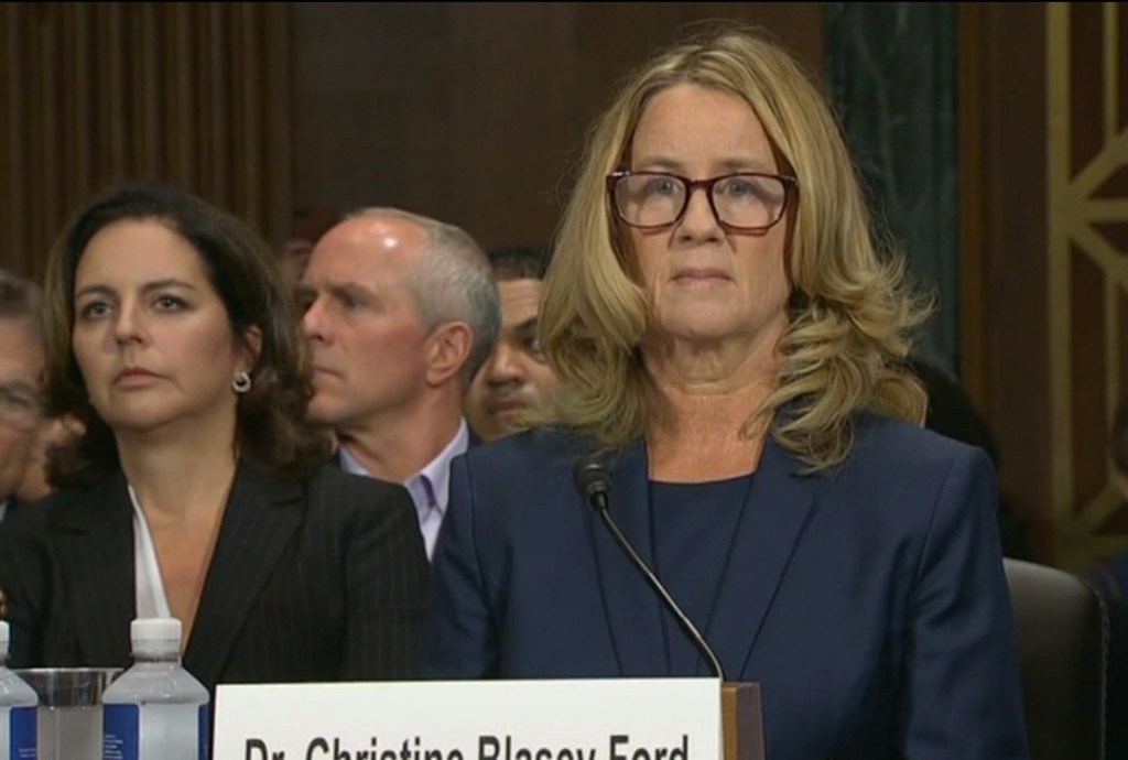 Christine Blasey Ford. Click to enlarge