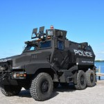 Anthor example of the increasing militarisation of U.S. law enforcement: Fort Pierce Police Dept's new armoured vehicle. Click to enlarge