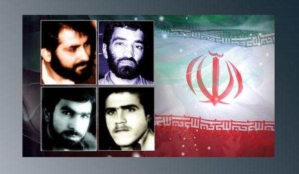 Four captive Iranians