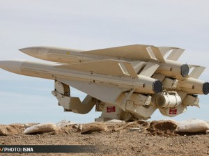 Iranian Hawk anti aircraft missile. Click to enlarge