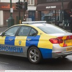 Jewish security patrol car out on the streets of North West London recently. Click to enlarge
