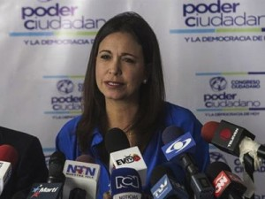 The coup was supposed to place Maria Corina Machado in power. On January 26, she hosted her main foreign accomplices in Caracas. Click to enlarge