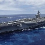 USS Nimitz aircraft carrier. Click to enlarge