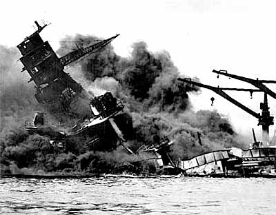 Pearl Harbour USS ARIZONA