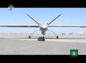 Shahed 129 UAV. Click to enlarge