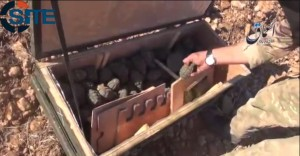 US weapons drop falls into the hands of Isis. click to enlarge