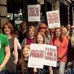 Ginger Pride March: Redheads rally in Edinburgh