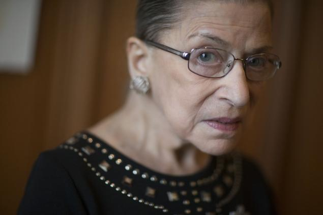 Supreme Court Justice Ruth Bader Ginsburg. Click to enlarge