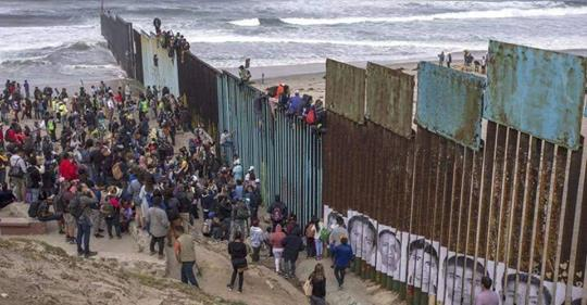 migrants tijuana