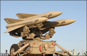 Shahin Missiles: part of the indigenously developed Mersad air-defence system. Click to enlarge