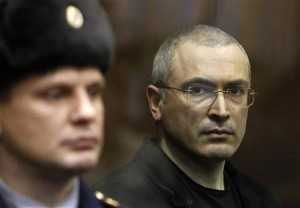 Khordovsky during his trial in Moscow. Click to enlarge