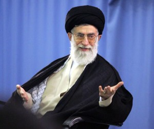 Ayatollah Ali Khamenei. Click to enlarge