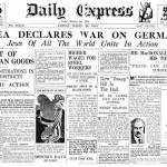 Daily Express: 'Judea Declares War On Germany'. Click to enlarge