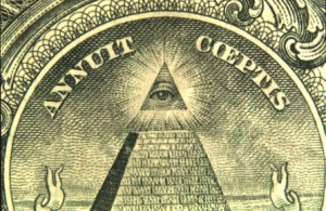The principle archetype of the modern surveillance state as envisaged by Freemasons centuries ago. Click to enlarge