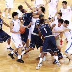 Georgetown basketball exhibition in China ends in brawl