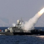 Hezbollah is thought to possess Mahrab anti-ship missiles. Click to enlarge