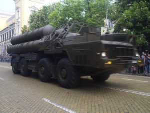 S-300 on parade in Moscow. Click to enlarge