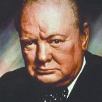 Winston Churchill. Click to enlarge