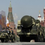 Russian missile in Red Square parade 2014.