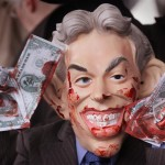 War Criminal Tony Blair Confronted At Leveson