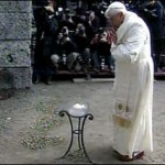 The pope at Auschwitz