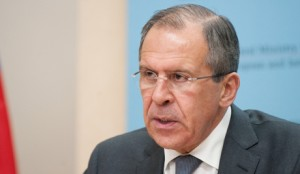 Russian Foreign Minister Lavrov. Click to enlarge