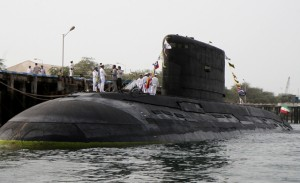 Russian built Kilo class submarine overhauled by Iran. Click to enlarge