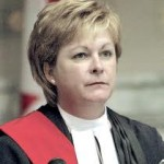 Lori Doudlas while Associate Chief Justice of Manitoba in charge of family law.