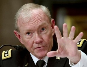 Chairman of the Joint Chiefs of Staff Gen Martin Dempsey. Click to enlarge