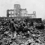 The ruins of Hiroshima after the nuclear blast