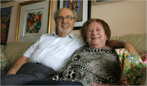 The Happy Holocaust Hoaxers Herman and Roma Rosenblat. Click to enlarge