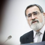 Caricature Chief Rabbi Sacks Caught Off Guard