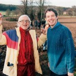 In good company: the now notorious Jimmy Savile photographed with a younger Tony Blair. Click to enlarge