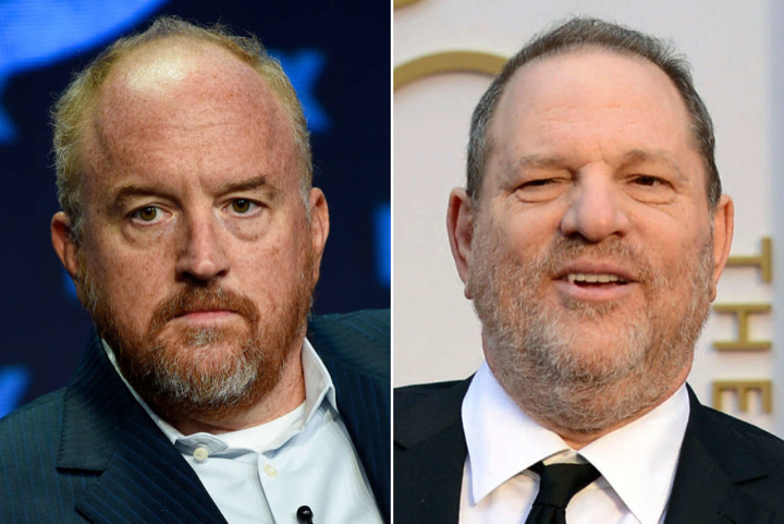 What motivates Jews like Louis CK and Harvey Weinstein? Read on. Click to enlarge