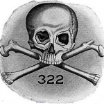 Skull and Bones is also the name of Yale's elite secret society, which includes members such as George Bush Sr., George Dubya and John Kerry.