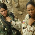 US female soldiers.