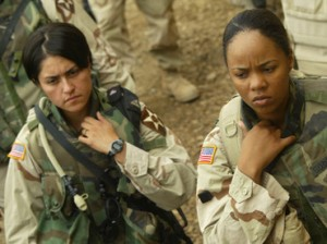 US female soldiers. Click to enlarge