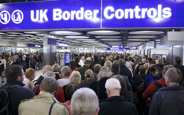 UK immigration rise.