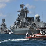 Russia starts major naval drills in Mediterranean Sea amid Syria crisis