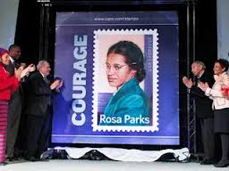 Rosa Parks stamp unveiled
