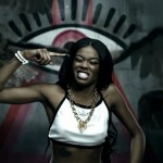 Here, Azealia raps in front of a giant triangle topped by an All-Seeing Eye while owls fly around her. Could this be more blatantly Illuminati?