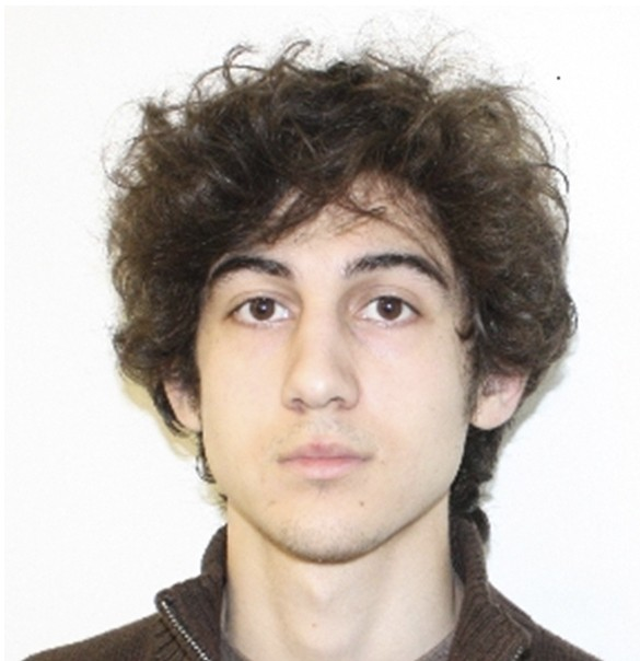 Dzokhar Tsarnaev, the younger alleged bomber. Click to enlarge
