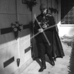 Anton Lavey visiting Monroes grave in 1967