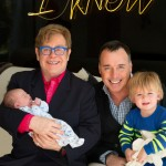 Helping to further the LGTBQ agenda: Elton John, partner and adopted children. Click to enlarge