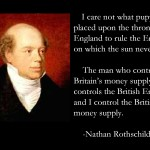 All Wars are Fought for Usury