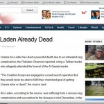 Fox News report in December 2001: Bin Laden Already Dead