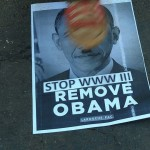 Anti-Obama protests dispersed by South Africa police