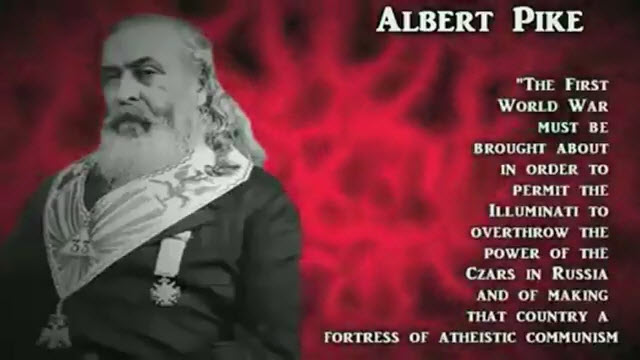 Albert Pike on WWI. Click to enlarge