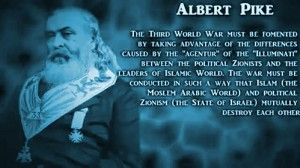 Albert Pike and his alleged prediction of WWIII. Click to enlarge